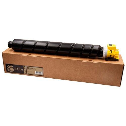 Фото - Тонер-картридж булат s-Line TK-8335Y для Kyocera TASKalfa 3252ci (Жёлтый, 15000 стр.) тонер картридж булат s line tk 475 для kyocera fs 6025mfp чёрный 15000 стр