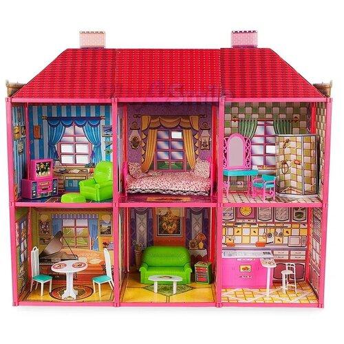 Детский игровой домик для кукол Барби, PlaySmart