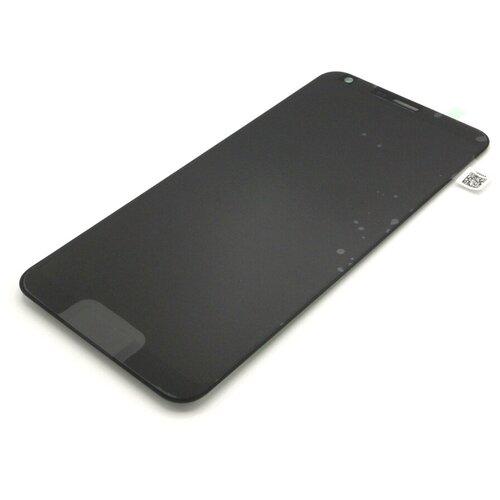 Дисплей для LG M700 Q6/Q6a/Q6+ с тачскрином (черный)