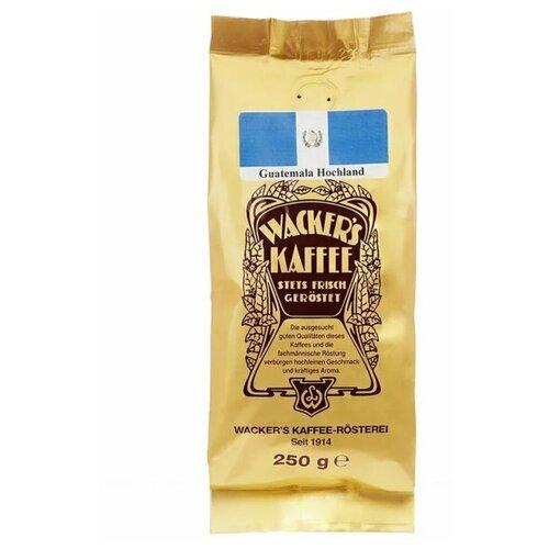 Фото - Кофе в зернах Guatemala Hochland «Гватемала высокогорный» 250 г / Wacker's kaffee кофе в зернах illy гватемала 250 г