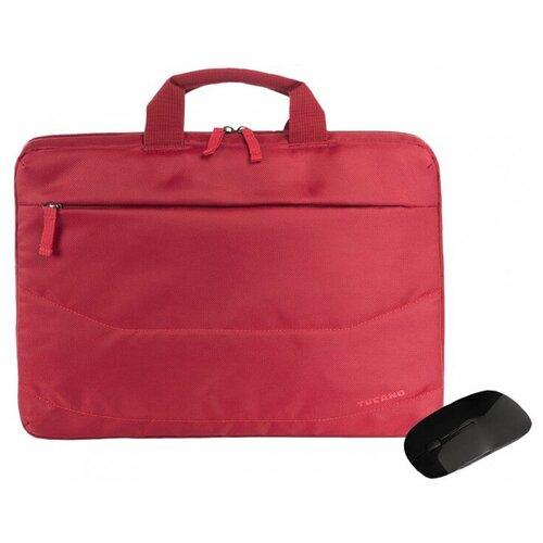 Сумка 15.6 Tucano Borsa Idea PC Bag + Mouse Red BU-BIDEA-WM-R