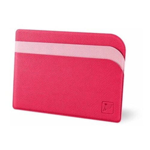 Flexpocket / Защитный футляр для карт / Картхолдер / Кредитница чехол / Держатель для кредитных карт / Визитница малиново-розовый