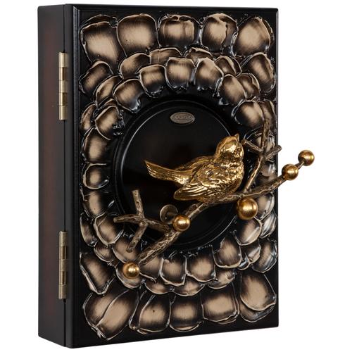 Настенная ключница BOGACHO Терра бронза часы настенные bogacho терра бронза