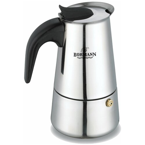 Кофеварка гейзерная BOHMANN 9506BH на 6 чашки