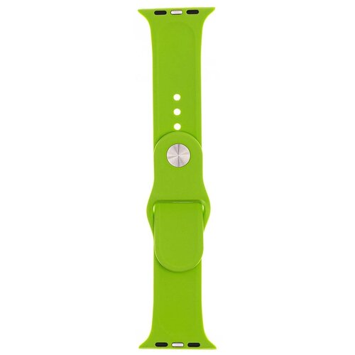 Аксессуар Ремешок Evolution для Apple Watch 42/44mm Sport Silicone Green AW44-S01
