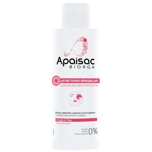 Молочко BIORGA Апезак Очищающее для снятия макияжа 200 мл