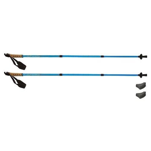 Фото - Палки для скандинавской ходьбы Larsen Adventure раздвижные 65-135см (3х секционные) палки для скандинавской ходьбы larsen camping