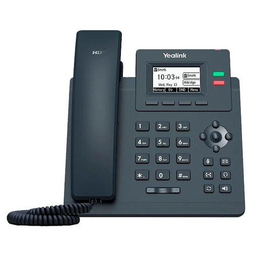 VoIP-телефон Yealink SIP-T31P (без блока питания) черный voip телефон yealink sip t27g черный