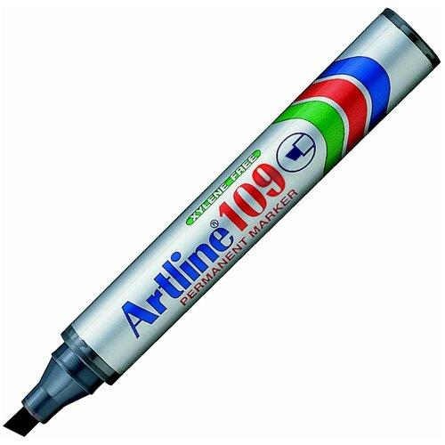 Купить Маркер перманентный, водостойкий с клиновидным наконечником Artline EK109, (2, 0-5, 0 мм) чёрный, Маркеры