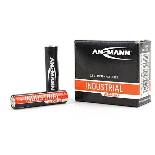 Фото - ANSMANN Батарейка ANSMANN Industrial alkaline battery Micro AAA BL10, 10шт (1501-0009) батарейка aa ansmann industrial alkaline lr6 10 штук 1502 0006