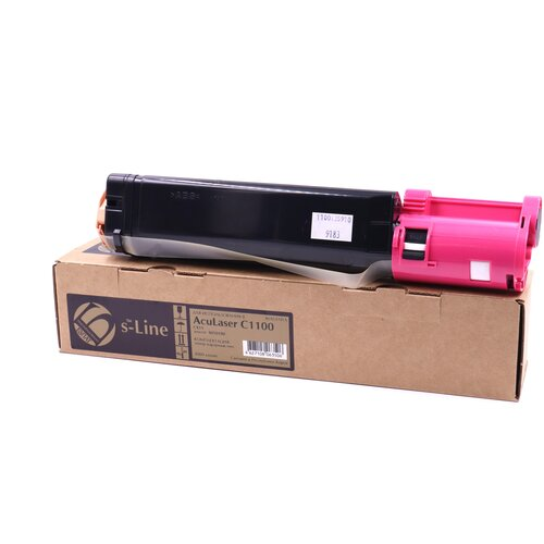 Фото - Тонер-картридж булат s-Line S050188 для Epson AcuLaser C1100, CX11 (Пурпурный, 4000 стр.) картридж лазерный cactus cs eps188 пурпурный 4000стр для epson aculaser c1100 c1100n cx11 cx11n cx11nf cx11nfc