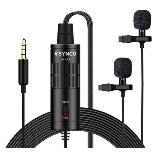 Микрофон Synco Lav-S6D