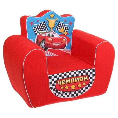 Мягкая игрушка «Кресло Чемпион», цвет красный