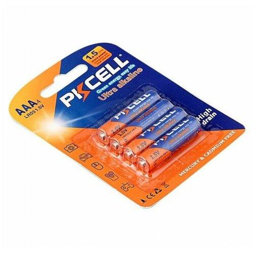 Фото - Батарейки Pkcell AAA Мизинчиковые (4 шт/уп) батарейки pkcell aa пальчиковые 12 шт уп