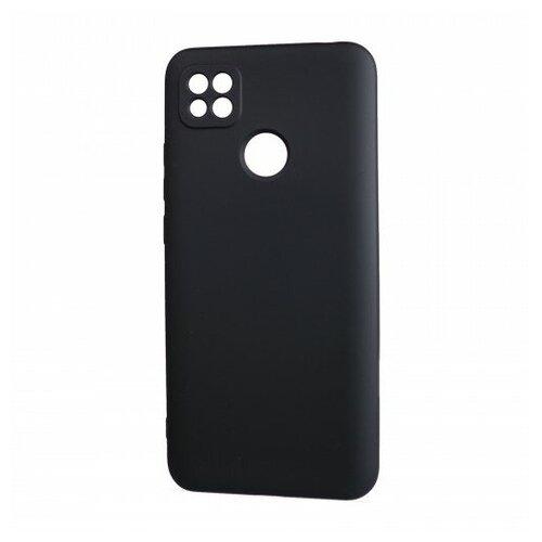 Фото - Матовый силиконовый чехол для Xiaomi RedMi 9C с покрытием софт-тач черный защитный чехол pero для xiaomi redmi 5 софт тач черный
