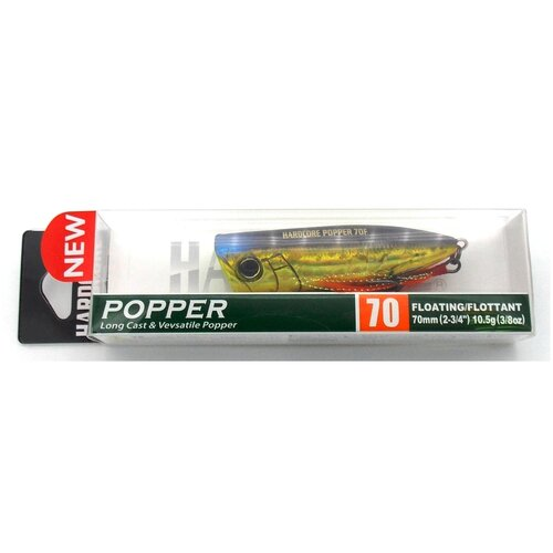 Воблер Duel Hardcore Popper 70F / R1379-HGSN