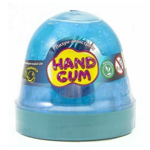 Слайм Mr.Boo Hand gum Голубой, 120 гр
