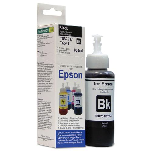 чернила для canon revcol gi 490 black dye 135 мл Чернила Revcol, для Epson серия L, в картоне Black, Dye, 100 мл.