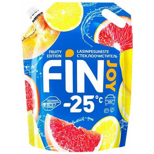 Стеклоомыватель FIN JOY Fruity зимний -25 °С 3 л