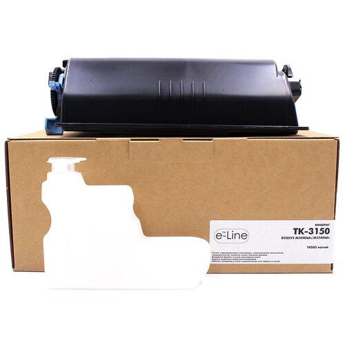 Тонер-картридж e-Line TK-3150 для Kyocera ECOSYS M3040idn (Чёрный,14500 стр.)