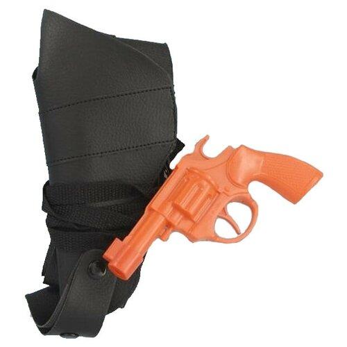 Аксессуар для праздника Forum Novelties Оранжевый пистолет и кобура гангстера Forum