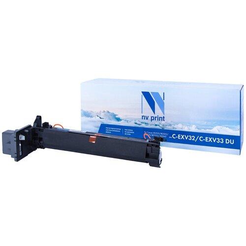 Фото - Совместимый драм-картридж NV Print NV-C-EXV32/C-EXV33 DU (NV-CEXV32-CEXV33DU) для Canon iR2520, iR2525, iR2530, iR2535, iR2545 картридж bion c exv33 совместимый