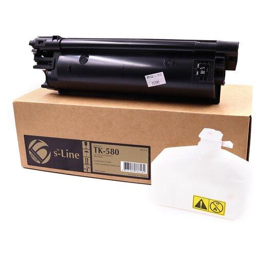 Фото - Тонер-картридж булат s-Line TK-580K для Kyocera FS-C5150dn (Чёрный, 3500 стр.) тонер картридж булат s line tk 475 для kyocera fs 6025mfp чёрный 15000 стр