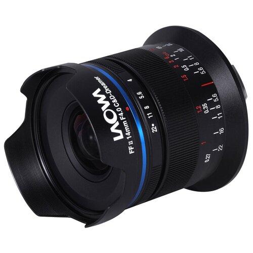 Фото - Объектив Laowa 14mm f/4 FF RL Zero-D Canon RF черный объектив laowa 15mm f 4 5 zero d shift nikon z черный