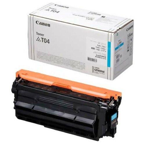 Фото - Картридж Canon T04 Cyan (2979C001) тонер картридж canon t04 b 2980c001