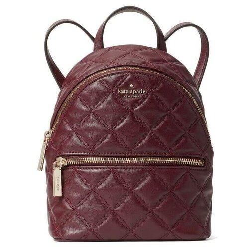 Женский кожаный рюкзак Kate Spade NATALIA MINI BACKPACK Cherry женская кожаная сумка kate spade natalia leather crossbody cherry