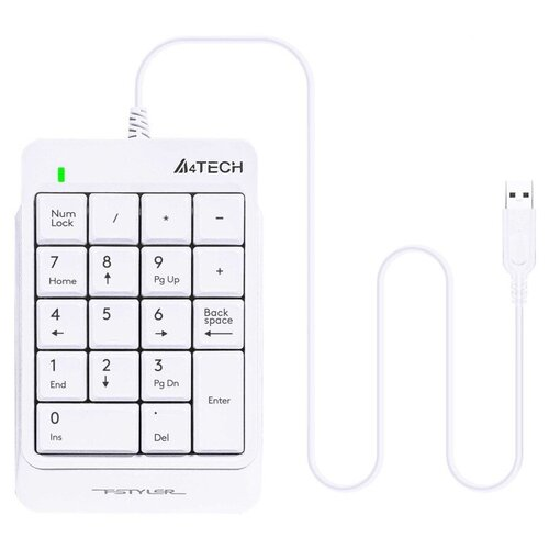 Клавиатура A4Tech Fstyler FK13P USB White