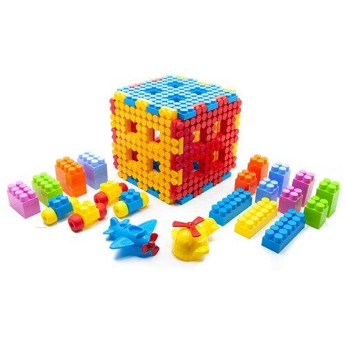 Конструктор пластиковый Maximus куб / конструктор для мальчиков / развивающие игрушки / конструкторы для девочек / конструкторы для мальчиков / конструктор для девочек / детский конструктор