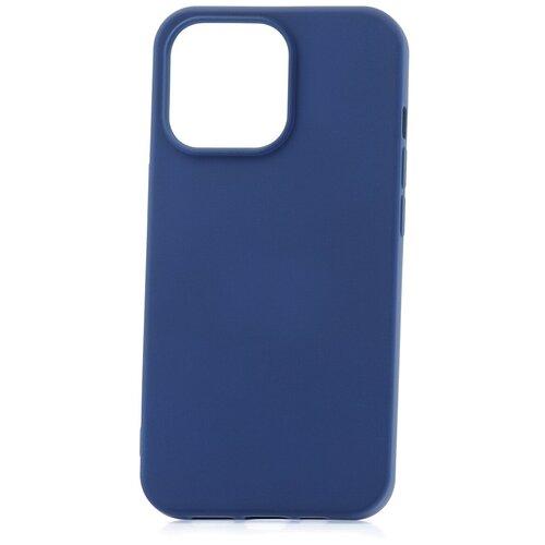Чехол для Apple iPhone 13 Pro Derbi Slim Silicone-3 темно-синий / чехол на айфон / противоударный чехол на айфон / однотонный чехол / чехол с защитой углов / чехол для Эпл Айфон / бампер на айфон / защитный чехол для iPhone / бампер для iPhone / софт тач чехол / бархатный чехол на айфон / чехол с высоким бортиком для iPhone / чехол с защитой камеры на айфон / силиконовый чехол / пластиковый бампер / защита для айфон 13 про / iphone 13 pro