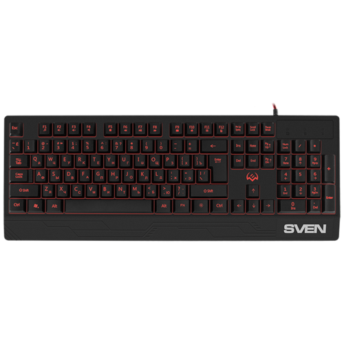 Клавиатура SVEN KB-G8300 Black USB