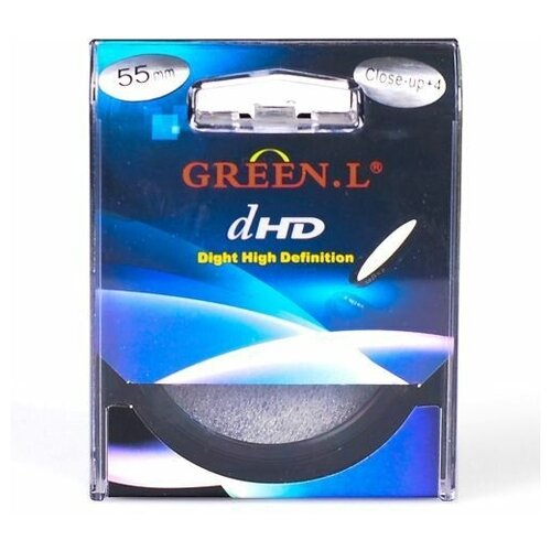 Фото - Светофильтр Green-L (Close-Up + 4), 55mm светофильтр green l close up 4 58mm
