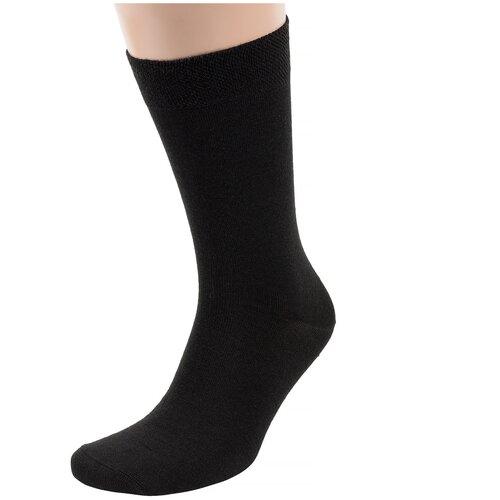 Мужские полушерстяные носки Брестские черные, размер 25 (40-41)