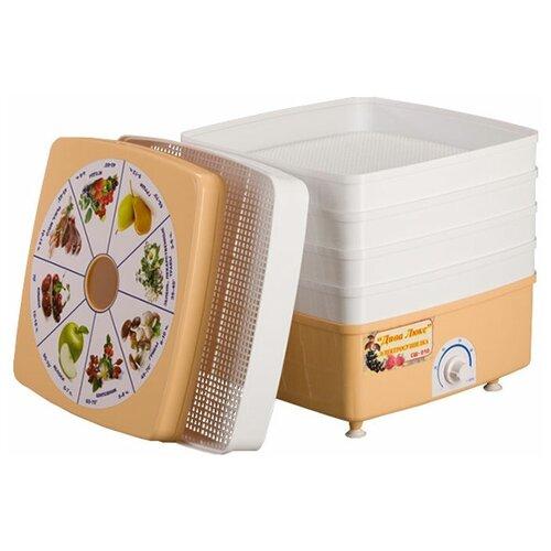 Сушилка для овощей, грибов и фруктов Ротор Дива Люкс СШ-010 (5 поддонов)