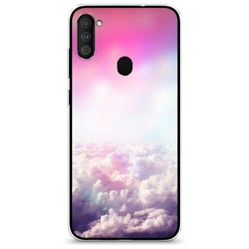 Чехол Силиконовый Samsung Galaxy M11 Постельные облака