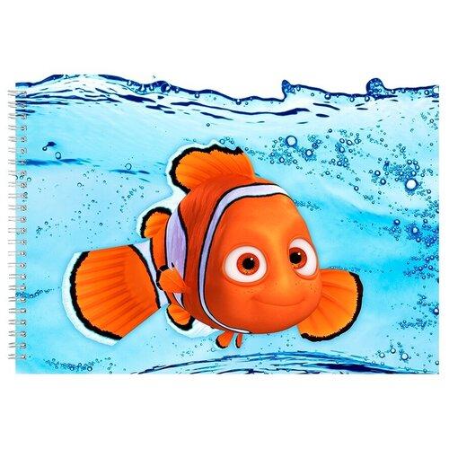 Альбом для рисования, скетчбук В поисках немо рыбка немо