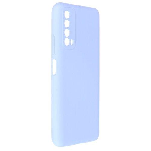 Чехол Pero для Huawei P Smart 2021 Liquid Silicone Blue PCLS-0062-LB