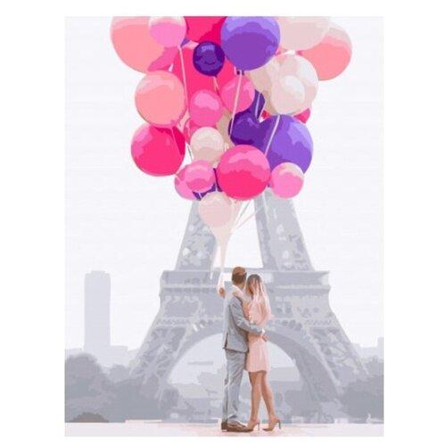 Купить Картина по номерам на холсте Paintboy Воздушная любовь , 40х50 см, GX-34553, Картины по номерам и контурам