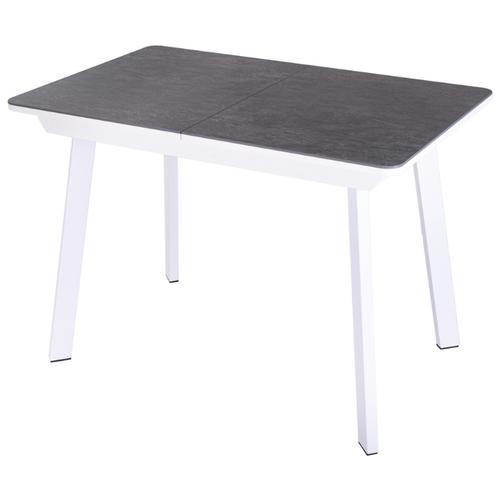 Стол кухонный с керамогранитом раскладной Диско ПР КРМ 84 БЛ 93 БЛ