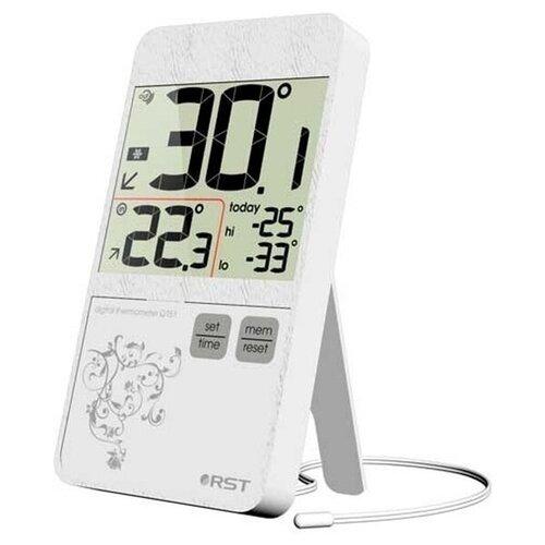Цифровой термометр RST 02151, белый корпус недорого
