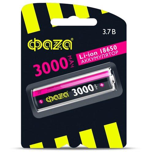 Фото - Аккумуляторная батарейка ФАZА BL-1, Li-ion, 3000мАч, тип 18650 18650 литий ионная 3800mah 3 7v аккумуляторная батарея для фонариком