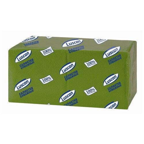 Купить Салфетки бумажные Luscan Profi Pack 1сл24х24зеленые 400шт/уп 2 шт.