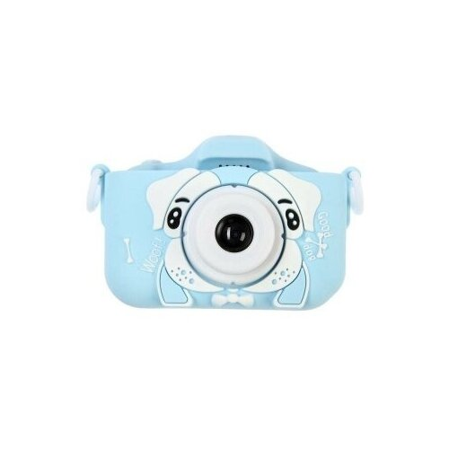 Фото - Детский цифровой фотоаппарат Собачка Голубая / Kids Camera Blue sinca s1930f pc swimming goggle for kids blue