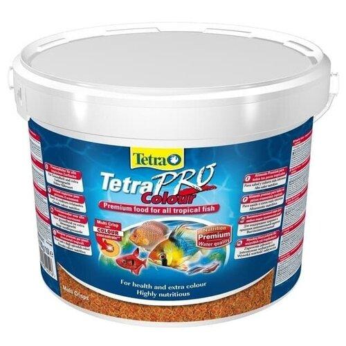 Фото - Tetra Pro Color Crisps корм-чипсы для улучшения окраса всех декоративных рыб 10 л tetra корм tetra pro color crisps чипсы для улучшения окраса всех декоративных рыб 100 мл