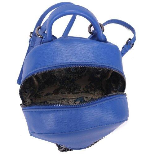 Женский рюкзак из экокожи, цвет небесно-голубой (арт. DW-842/3)
