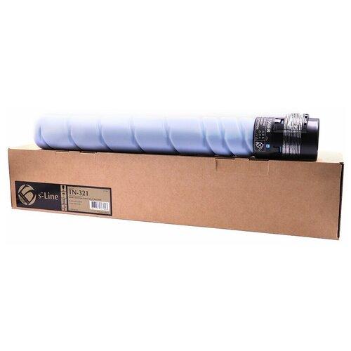 Фото - Тонер-картридж булат s-Line TN-321C для Konica Minolta bizhub C224, bizhub C284 (Голубой, 25000 стр.) драм картридж булат s line 034m для canon ir c1225 пурпурный 34000 стр ref
