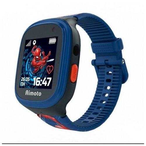 Часы Aimoto Кнопка жизни Marvel Человек паук красный/синий/голубой